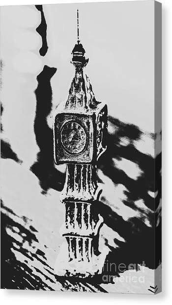 Big Ben Canvas Print - Postcards From Big Ben  by Jorgo Photography - Wall Art Gallery