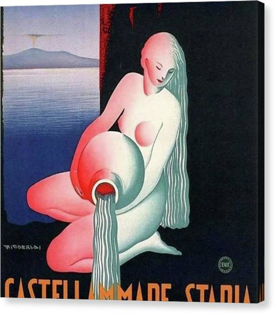 Futurism Canvas Print - #postfataresurgo #stabia #futurism by The Ivy Mike
