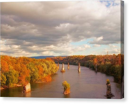 Potomac River Canvas Print