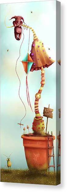 Trolls And Ladders.  Canvas Print