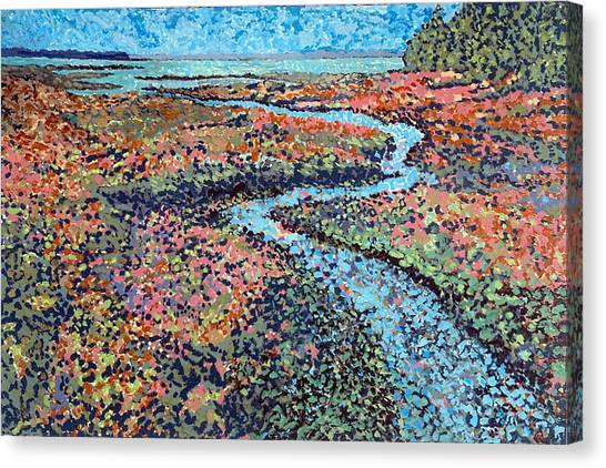 Pottery Creek Canvas Print