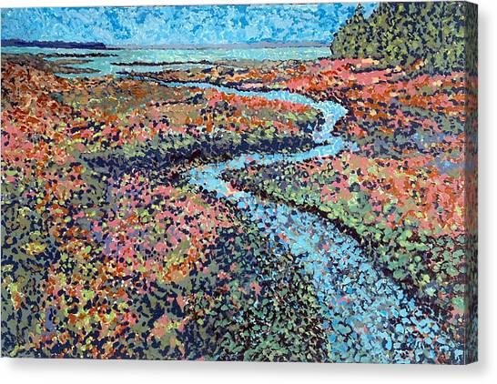 Pottery Creek Canvas Print