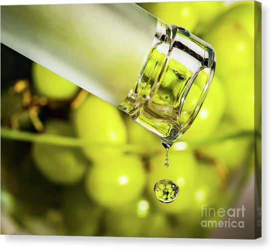 Pour Me Some Vino Canvas Print
