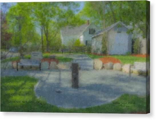 Povoas Park Canvas Print