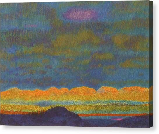 Powder River Reverie, 1 Canvas Print