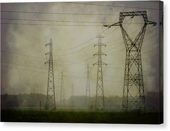 Power 5. Canvas Print