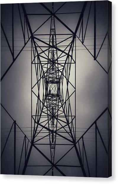 Power Above Canvas Print