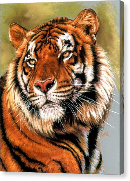 Canvas Print - Power And Grace by Barbara Keith