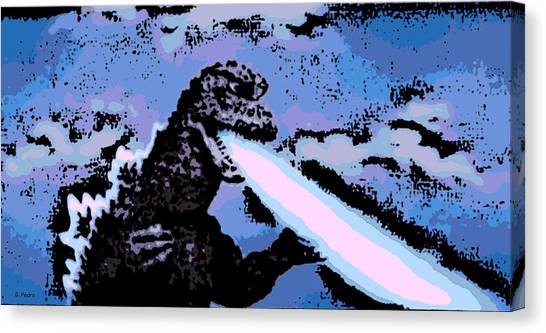 Power Blast Canvas Print