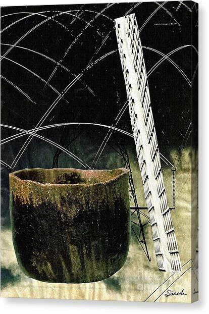 Ceramics Canvas Print - Power Lines by Sarah Loft