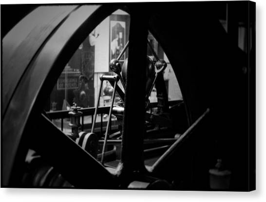 Smithsonian Institute Canvas Print - Power Machinery Industry  by Kyle Hanson