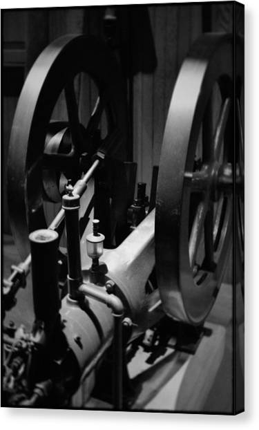 Smithsonian Institute Canvas Print - Power Machinery Industry Portrait by Kyle Hanson