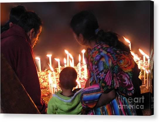 Power Of Prayer Canvas Print