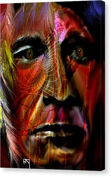 Power Of The Spirits Canvas Print by Michelle Dick
