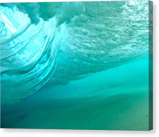 Bodyboard Canvas Print - Power Spinners by Benen  Weir