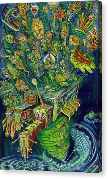 Powerflods Canvas Print