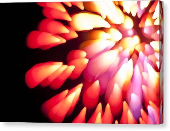 Powerful Explosion K874 Canvas Print by Yoshiki Nakamura