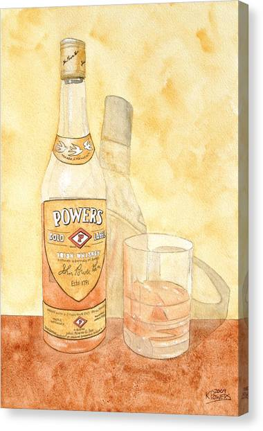 Powers Irish Whiskey Canvas Print