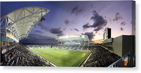 Mls Canvas Print - Ppl Park by Cameron Minaglia