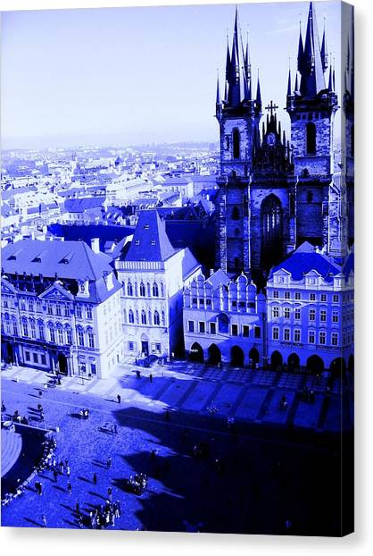 Prague Cz Canvas Print