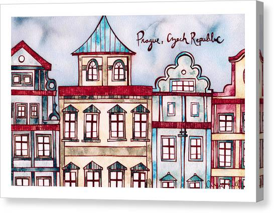 Prague Canvas Print - Prague Czech Republic by Camie Call