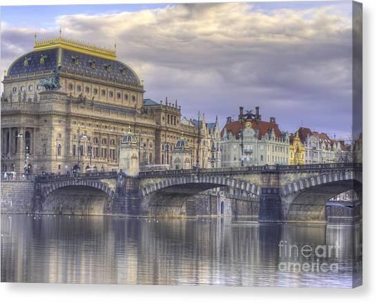 Baroque Art Canvas Print - Prague, Czech Republic by Juli Scalzi