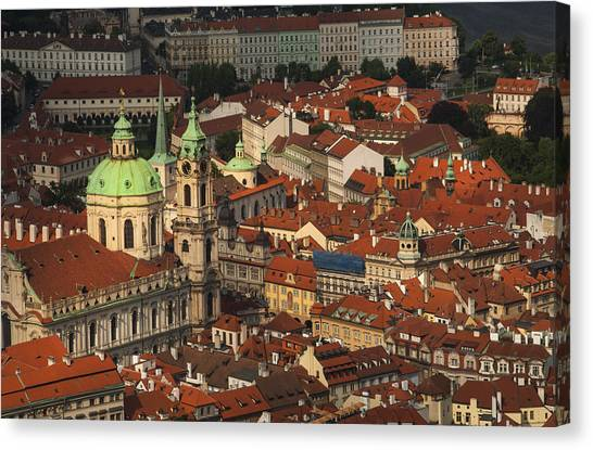 Prague From Above Canvas Print