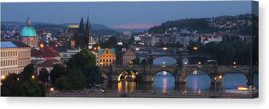 Prague - Most Beautiful City In The World Canvas Print