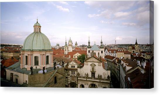 Prague Twilight Canvas Print