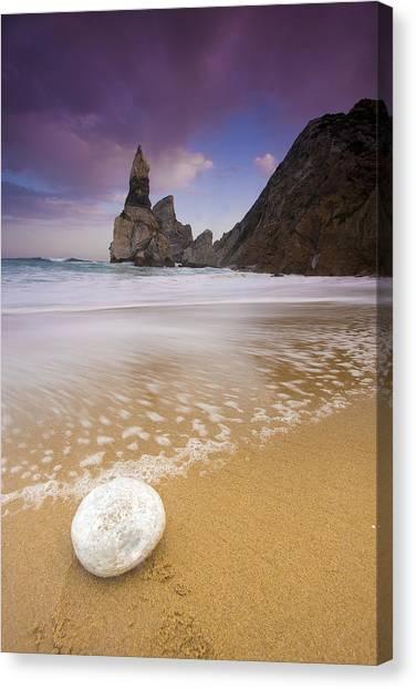 Praia Da Ursa Canvas Print by Andre Goncalves