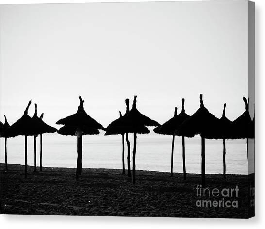 Praia Salema Canvas Print