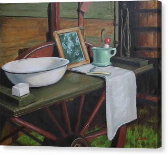 Prairie Ablutions Canvas Print