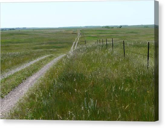 Prairie Canvas Print by Ellen  Leigh