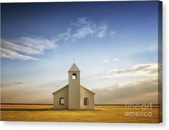 Prairie Faith Canvas Print