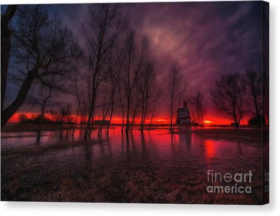 Saskatchewan Canvas Print - Prairie Glory by Ian McGregor