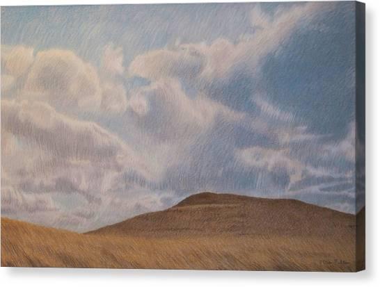 Prairie Hill Canvas Print