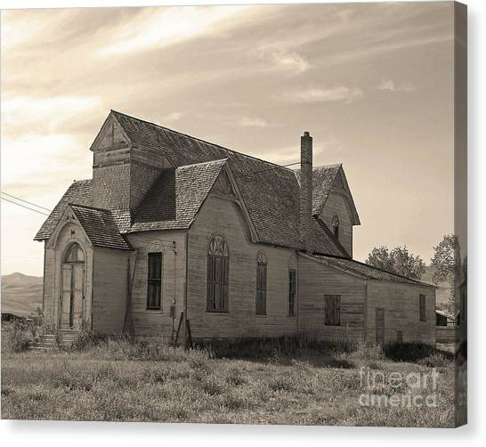 Prairie House Canvas Print