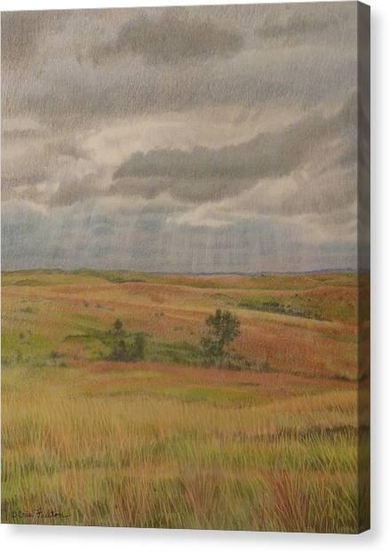 Prairie Light Canvas Print