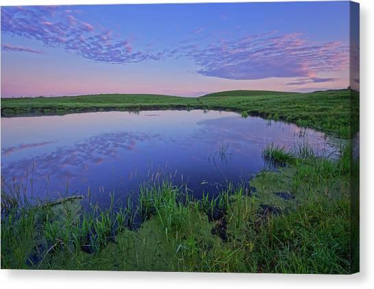 Prairie Reflections Canvas Print