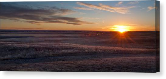Prairie Sunset Canvas Print