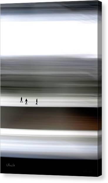 Prairie Walkers Canvas Print