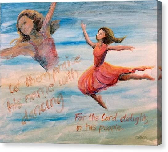 Praise His Name Canvas Print