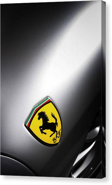 Canvas Print featuring the photograph Prancing Horse by ItzKirb Photography