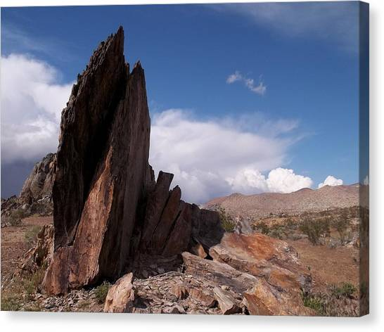 Southern Rock Canvas Print - Prayer Rocks - Route 66 by Glenn McCarthy Art and Photography