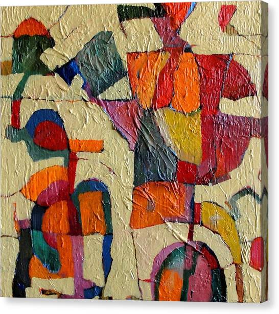 Precarious Balance Canvas Print by Bernard Goodman