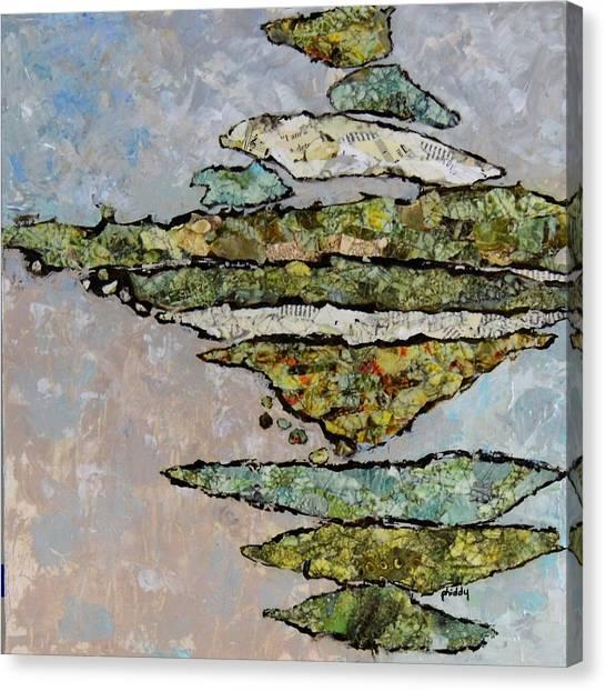 Precarious Canvas Print