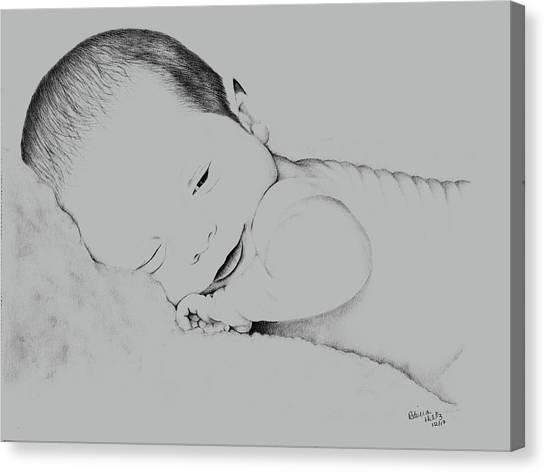 Precious Baby Canvas Print