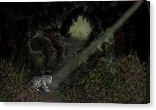 Predator Canvas Print by Tony Rodriguez
