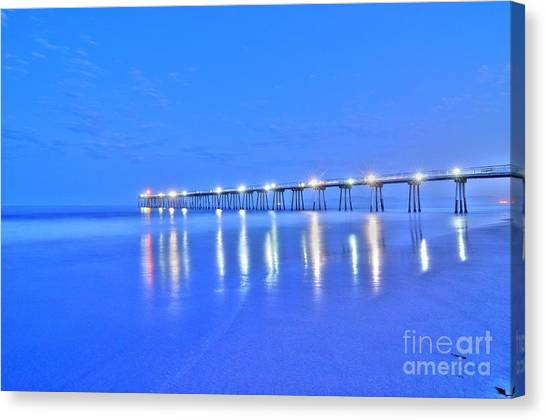 Predawn Blue Canvas Print