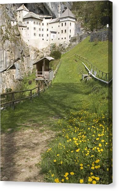 Predjama Castle Canvas Print